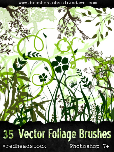 29_GIMP Vector Foliage-Plants
