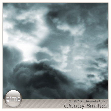 30_Cloudy Brushes Version Gimp