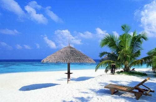34_Tropical Beach Wallpaper