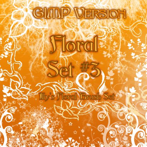 36_GIMP Floral Set 3