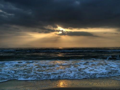 40_Sunset at Long Beach
