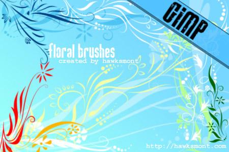 41_GIMP Floral I