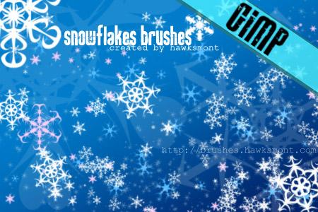 43_GIMP Snowflakes