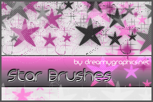 44_Star Brushes For Gimp