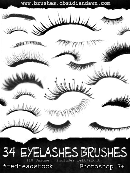 45_GIMP Eyelashes Brushes