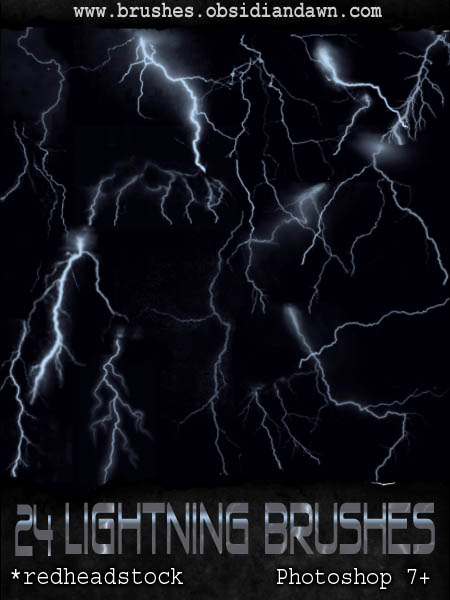 46_GIMP Lightning Brushes