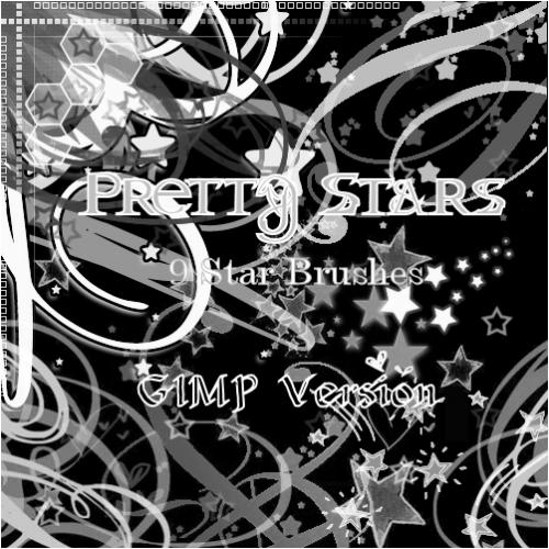 53_GIMP Pretty Stars