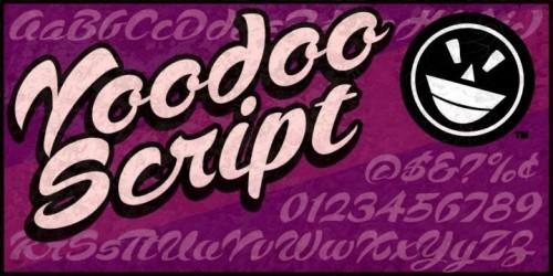 5_Voodoo Script Font