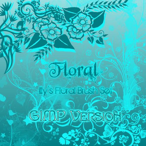 7_GIMP Floral Set 1