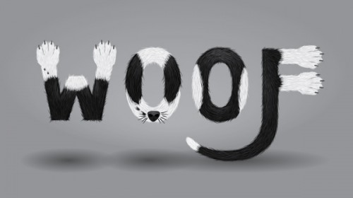 11_Create a Furry Calligram in Illustrator