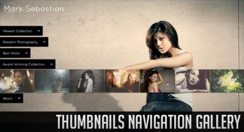 12_Thumbnails Navigation Gallery with jQuery
