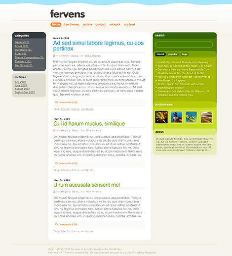 16_Fervens Theme