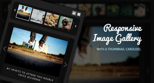19_Responsive Image Gallery with Thumbnail Carousel