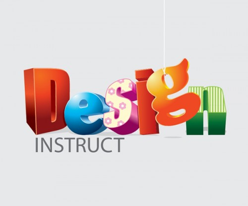 37_Create an Assortment of 3D Text in Adobe Illustrator