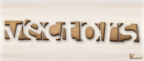 41_How to Make a Wooden Text Effect with Adobe Illustrator