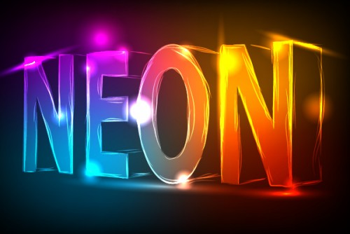 6_How to Create a Neon Text Effect
