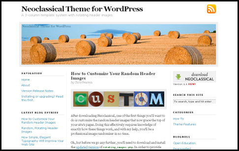 7_Neoclassical Theme for WordPress