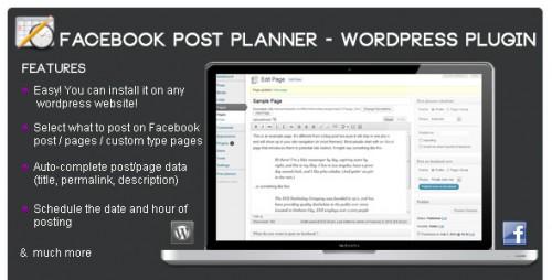 10_Facebook Post Planner - Wordpress Plugin