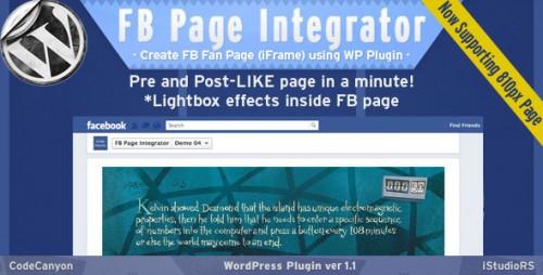 12_FB Page Integrator - WordPress Plugin