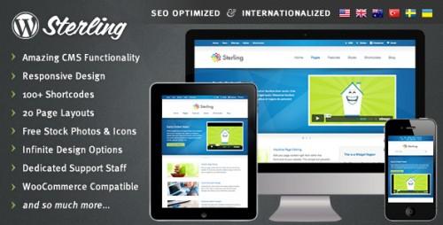 12_Sterling - Responsive Wordpress Theme
