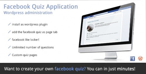 13_Facebook Quiz Application - Wordpress Plugin