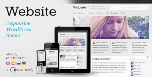 13_Website - Responsive WordPress Theme
