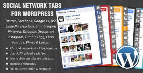 15_Social Network Tabs For Wordpress