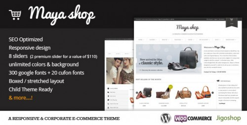 18_MayaShop - A Flexible Responsive e-Commerce Theme