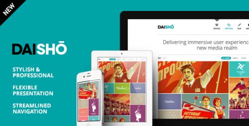 19_Daisho - Flexible WordPress Portfolio Theme