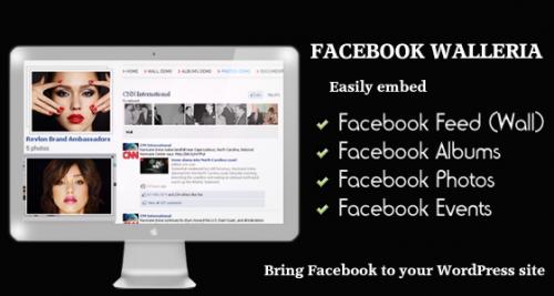 1_Facebook Walleria - Wordpress Plugin