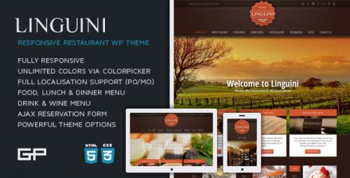 1_Linguini - Restaurant Responsive WordPress Theme