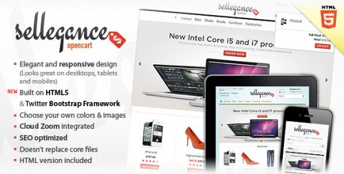 23_Sellegance - Responsive and Clean OpenCart Theme