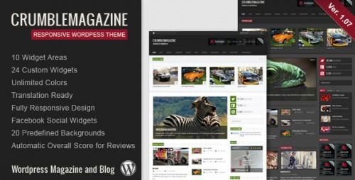 26_Crumble - Responsive Wordpress Magazine, Blog