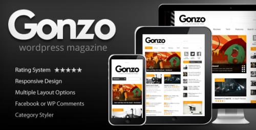 2_Gonzo - Clean, Responsive WP Magazine