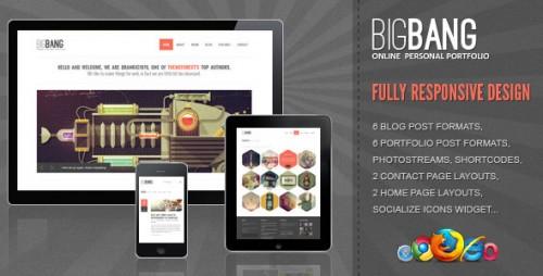 3_Bigbang - Responsive WordPress Template
