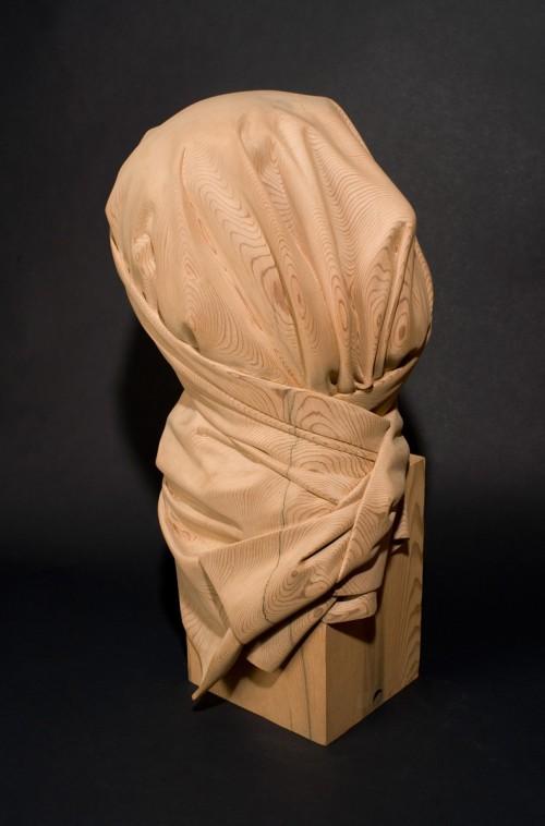 5_Shroud - Carved Redwood
