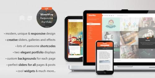 7_WowWay - Interactive & Responsive Portfolio Theme