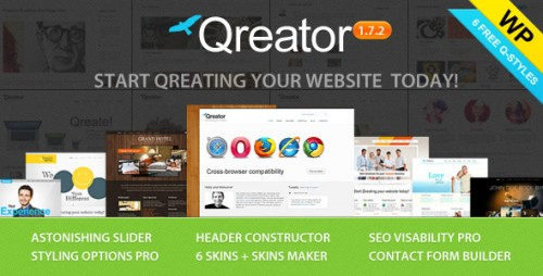 8_Qreator - Responsive Premium Wordpress Theme