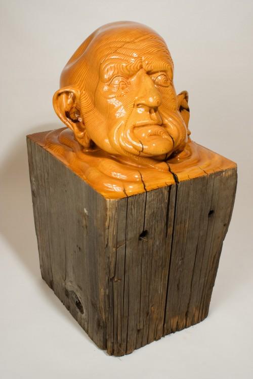 8_Sinker - Carved Fir