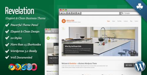 11_Revelation - Elegant and Clean Wordpress Theme