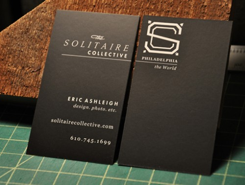 12_Black Silk Business Card