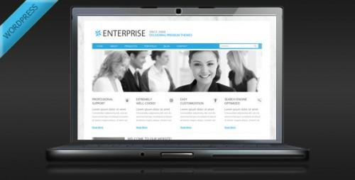 12_Enterprise - Clean Business WordPress Theme