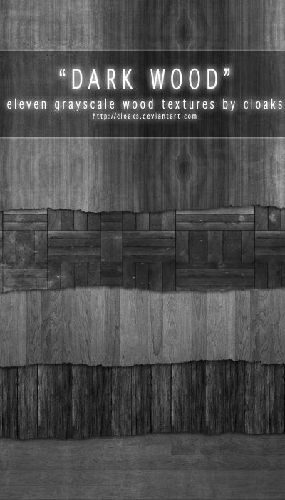 14_Dark Wood Texture Pack