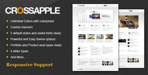 16_Cross Apple - Clean Business WordPress Theme