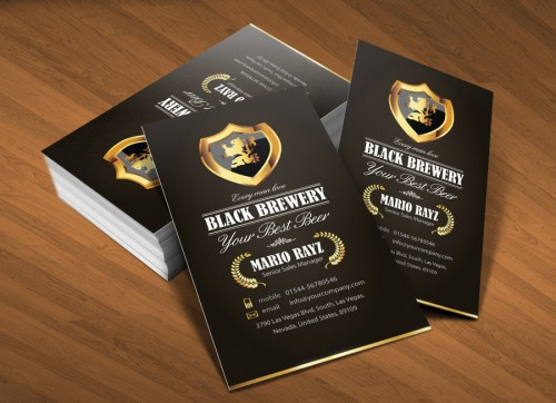 17_Black Brewery Business Card V1