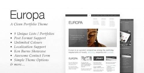 17_Europa - Clean Business & Portfolio Theme