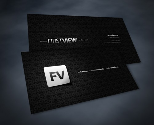 18_FirstView Business Cards