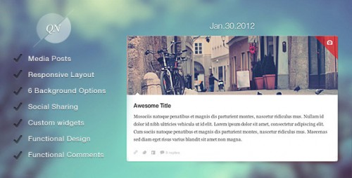 20_Quicknote - Clean & Functional Blog