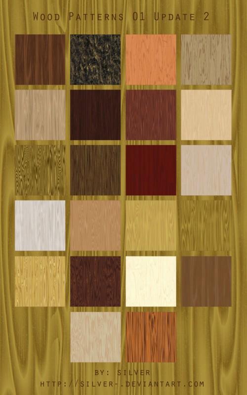20_Wood Texture Patterns