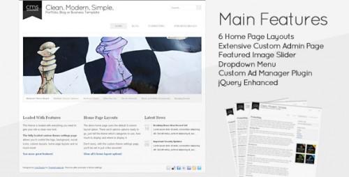 21_Clean Modern Simple - CMS Wordpress